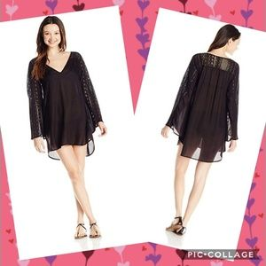 O'Neill Eva Swim Cover up Size XL Black